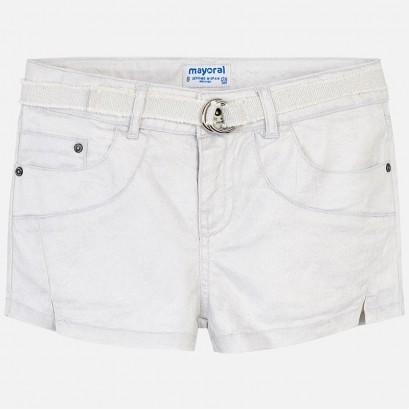 Girls Belted Shorts Mayoral