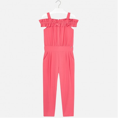 d637d5c1d7 Kids Crepe Jumpsuit Mayoral