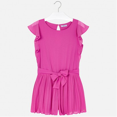 Girls Chiffon Playsuit Mayoral