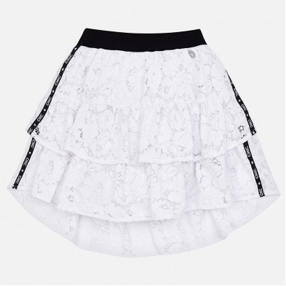 Kids Lace Skirt Mayoral