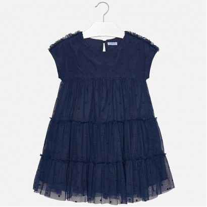 Girls Plumetti Dress Mayoral