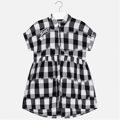 Girls Checkered Dress Mayoral