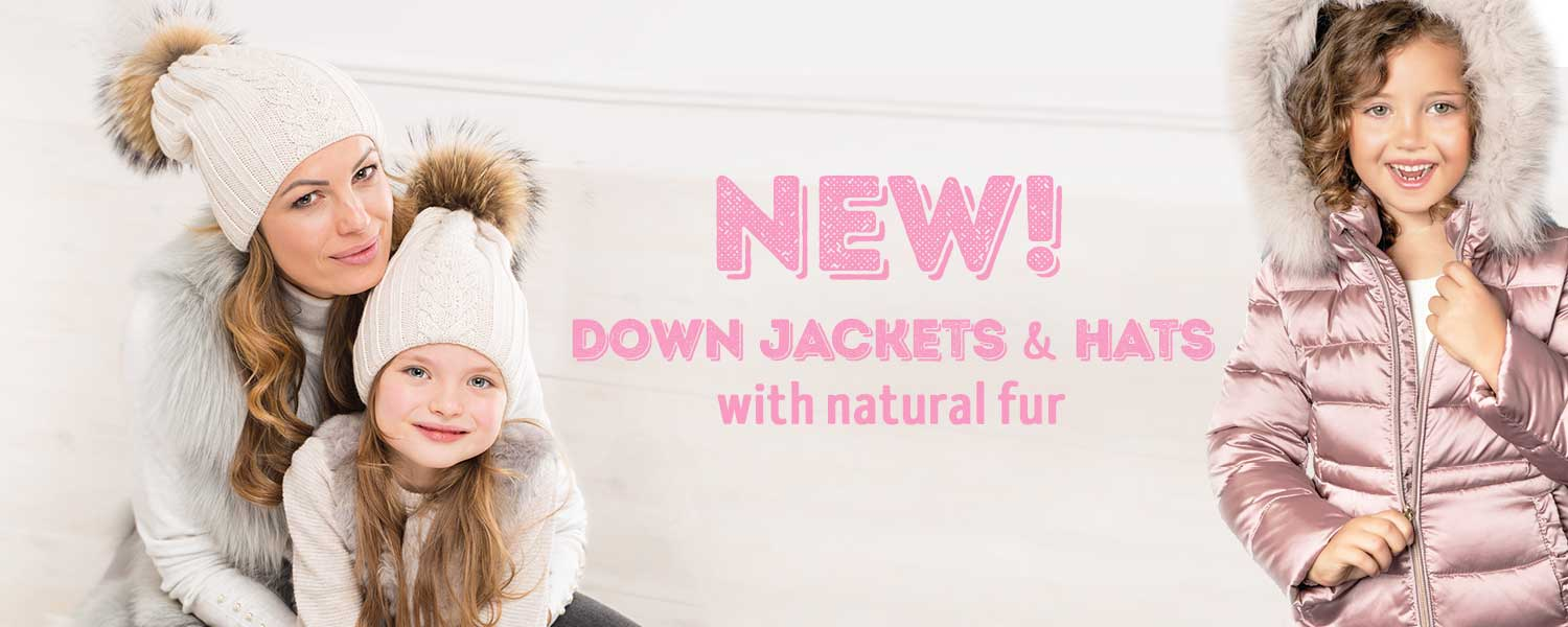 5 Down jackets and fur hats